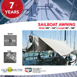 Oceansouth Sailboat Awning Water And Uv Resistant Quality Canvas