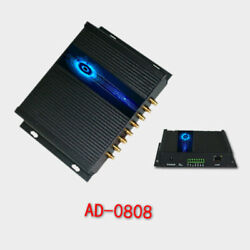 8 Channel Uhf Reader Passive Rfid Multichannel Remote Reader And Writer Rs485