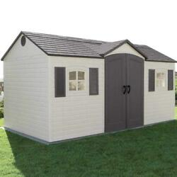 Large Shed 8 by 15-Feet home outdooryardgarden storageshed design tool store
