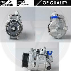 FOR MERCEDES ML 320 350 CDi W164 AC AIR CONDITIONING COMPRESSOR A0022305811 EO