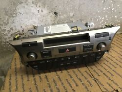 15 16 Lexus ES350 Radio Stereo Head Unit Climate Control Panel 86130-33590