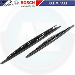 FOR BMW 3 SERIES E36 E46 M3 GENUINE BOSCH FRONT WIND SCREEN WIPER BLADE SET FEO