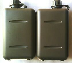 X2 Tactical South African 2l Military Canteen - O Ring Sealed Lids - Bpa Free