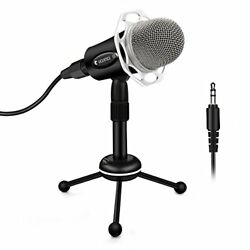 Condenser Microphone Elegiant Mono  Pc With Vocals For The Usb Connectio
