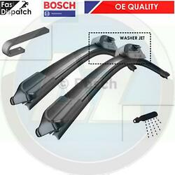 FOR MERCEDES VITO V CLASS W638 97-03 WIPER BLADES FRONT WITH WASHER JETS