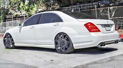 """22"""" RF11 STAGGERED WHEELS RIMS FOR MERCEDES S CLASS W222 W221 S550 2007 -PRESENT"""