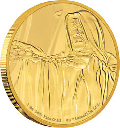 Niue -2018- 1 Oz Gold Proof Coin- Star Wars Classic Andndash Emperor Palpatine
