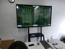 Cloud Education Solution 70 Inch Interactive Display + 70 Inch Note Board