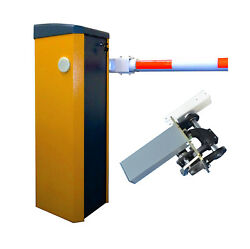 Barrier Gate 0.9 Second High Speed Dc24v Servo Motor With Solar Interface
