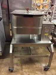 Groen Td/fpc 40 Qt Commercial Electric Braising Pan On Stand W/ Casters