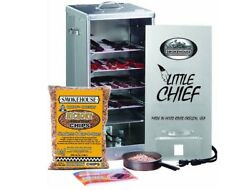 Front Loading Electric SmokerLittle Chief By Smokehouse wBag of Chips N Chunks