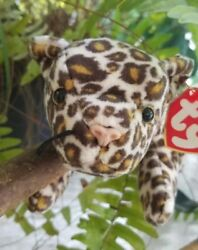 Freckles Very Rare Beanie Baby Manufacturer's Error Made Only 1 Set Of Whiskers