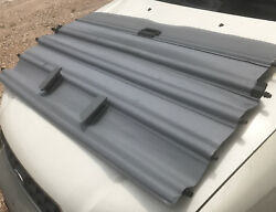 2000 - 2004 Gray BMW X5 FACTORY Cargo Cover Retractable Trunk Privacy Shade