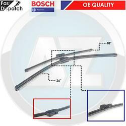 FOR BMW 5 SERIES F10 F11 TOURING FRONT BOSCH WIPER BLADE BLADES SET 2009