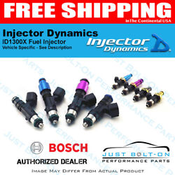 Injector Dynamics Id1300x Fuel Injectors Fits Holden Commodore Vs/vy Scv6