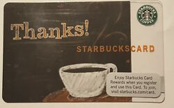 Rare Starbucks Thanks Indianapolis Test Card Only Available 60 Days In 2009