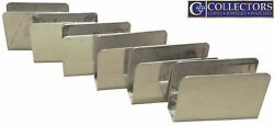 Vintage And Co 925 Sterling Silver Match Book Holder Cover Cases Lot Of 6