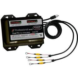 Dual Pro Prefessional Series 30a 15a 2-bank Battery Charger Ps2
