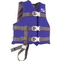 Stearns Classic Series Child Life Jacket Blue 30-50 Lbs 3000004471