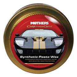 Mothers California Gold Synthetic Paste Wax 11 Oz 05511