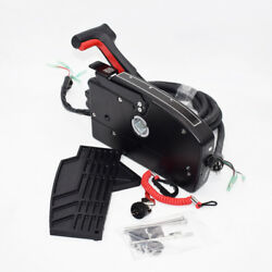 Right Side Mercury Boat Motor Outboard 8 Pin 15ft Cable Remote Control Box Well