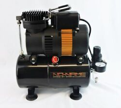 Tooty Airbrush Compressor By No-name Brand With Air Tank Piston Type New Motor