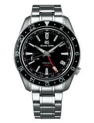 Grand Seiko Spring Drive GMT Men's Stainless Steel Watch SBGE201