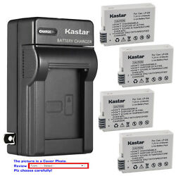 Kastar Battery Wall USB Charger for Canon LP E8 LC E8 Canon EOS Rebel T3i Camera