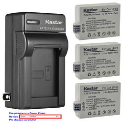 Kastar Battery Wall Charger for Canon LP E5 LC E5 amp; Canon EOS Rebel Xsi Camera