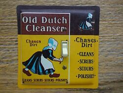 Old Dutch Cleanser Soap Tin Light Switch Cover Plate Laundry Room Decor Lighting