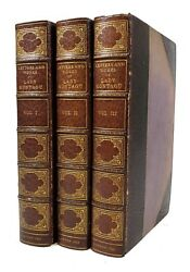 Letters and Works of Lady Mary Wortley Montagu - 3 Vols 1837 - Stikeman Binding