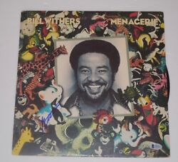 Bill Withers Signed Autographed Menagerie Record Album Lp Beckett Bas Coa