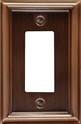 Colonial Decorative Switch plate Wall plate Cover Oil Rubbed Bronze 2-100...