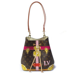 LOUIS VUITTON M40649 Neonee Limited Bucket Shoulder Bag Trunk Design Used Ex++