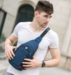 Crossbody Bags for Men Messenger Chest Bag Pack Casual Bag 2018 New Fashion $29.99