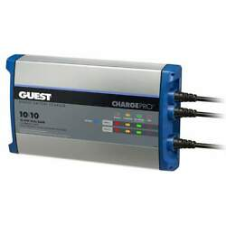 Guest On-board Battery Charger 20a 12v 2-bank 120v 2720a