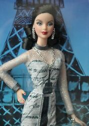 Barbie Doll Of The World Landmark Collection Eiffel Tower - Free Shipping