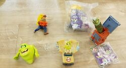 Burger King Extreme Ghostbusters Toy Set 5