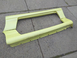 Dodge Stealth 2nd Gen Side Skirts Pearl Yellow Pair Sideskirt