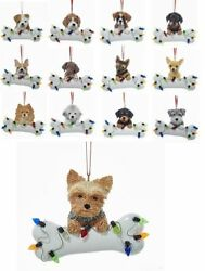 23 Popular Dog Breeds Christmas Ornament Kurt Adler Puppy Can Be Personalized