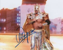 Ultimo Dragon Signed Wwe 8x10 Photo Wrestling All Japan Njpw Lucha Libre Wcw