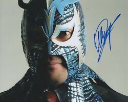 Ultimo Dragon Signed 8x10 Photo Wrestling All Japan Njpw Lucha Libre Wcw Wwe
