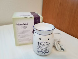 SLIGHTLY USED Scentsy Full Size Warmer Homestead Retired