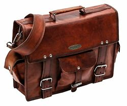 Genuine Leather Satchel Messenger Laptop Briefcase 10 Bags bulk Sell Christmas