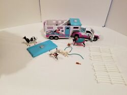 Breyer Stablemates Horse Truck and Trailer Vehicle Plus Accessories Animals Hose