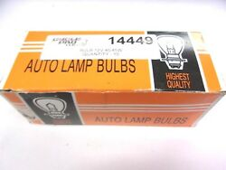 Motorcycle Scooter Atv Snowmobile Lamp Bulb 14449 Lb449 -lot Of 5-