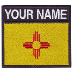 New Mexico Personalized Badge Embroidered Patch