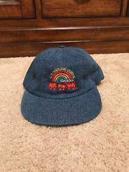 Vintage Toys For Tots Jean Material Adjustable Hat Marines