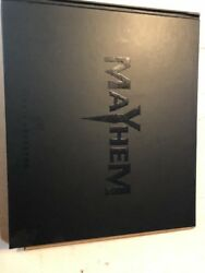 Mayhem Festival Tour New Hard Cover Book 2008-2013 Limited Edition Rare Htf Oop