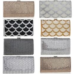 Diamonds Candy Evening and Day Shoulder Clutch Bags Summer Fashion Chain Wallets